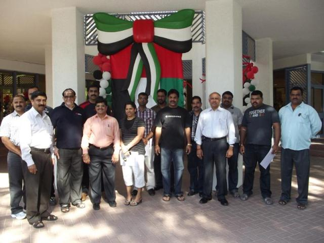 RAMAKSHATRIYA SANGHA'S BLOOD DONATION CAMPAIGN DEDICATED TO UAE'S 40TH NATIONAL DAY