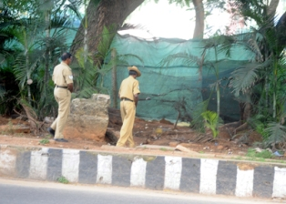 Relieve it or not! Cops posted in CM's house forced to pee in open