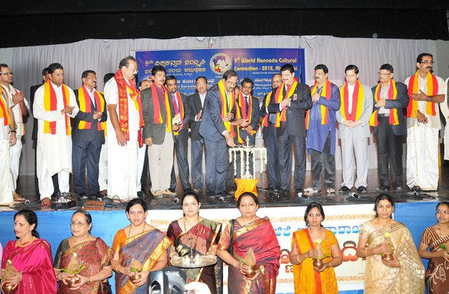 Abu Dhabi:9th Internatio​nal Kannada Cultural Convention Commences on Colourful Note