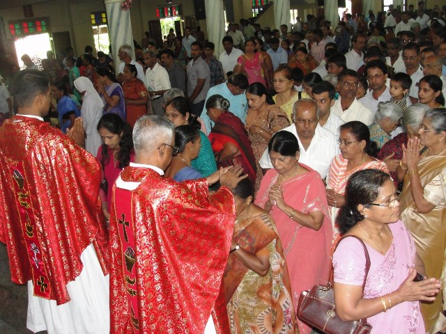 St Lawrence in Attur- Karkal Shrine Festival Begins with solemnity
