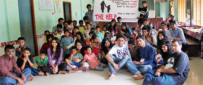 Sharing with the destitute: MIT students form a group to celebrate birthdays with orphans