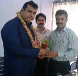 Kemmannu :  Mr Pramod Madwaraj MLA of Udupi  felicitated and honored at Thonse Health Centre