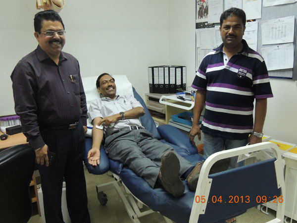 Padmashaali UAE Successfully Conducted Blood Donation Campaign In Dubai