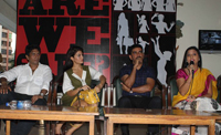 "Bollywood actress Jacqueline Fernandez and Additional Commissioner Vishwas Nangare Patil joined ""Are We Safe"" campaign"