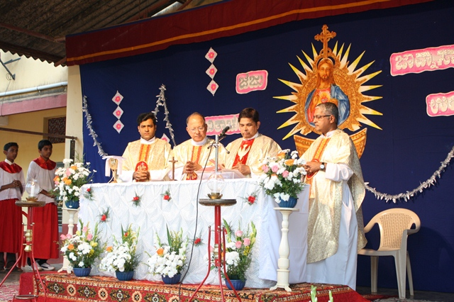 Confratern​ity Sunday celebratio​n at St. Theresa Church, Kemmannu