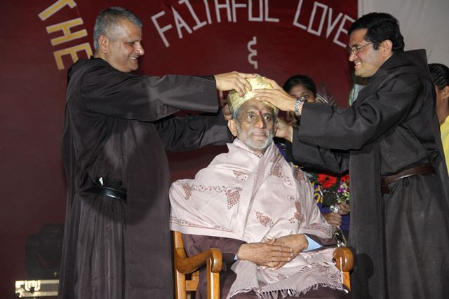 King of Mira Road Celebrates his Golden Jubilee of his Religious Profession