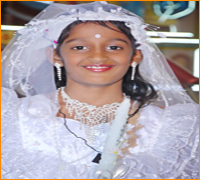 Photo Album:First Holy Communion Nishal Jernis
