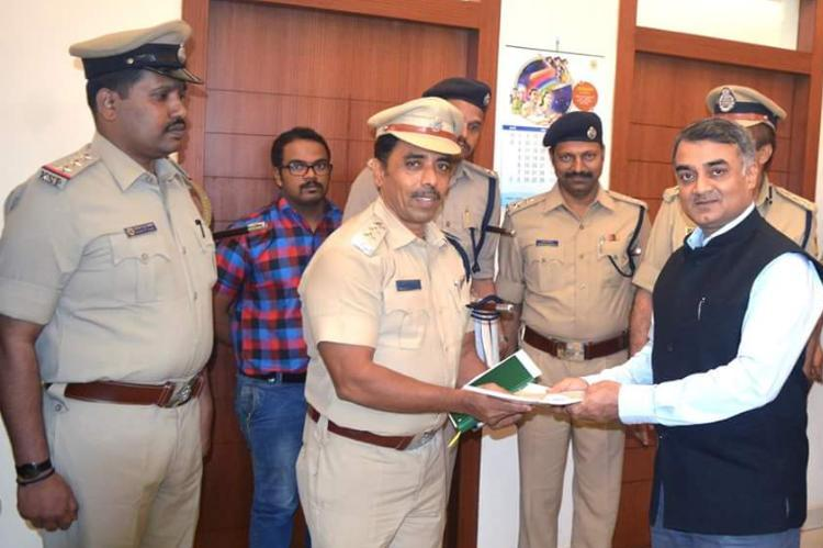 People in Dakshina Kananda want peace: DGP RK Dutta, also Praises CCB Police.