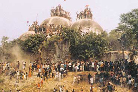Just as Taliban destroyed Bamiyan Buddha, Hindu Taliban destroyed Babri Masjid, SC told