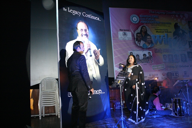 Doha:MCA Presented Wilfy Nite The Legacy Continue Tribute To late Wilfy Rebimbus