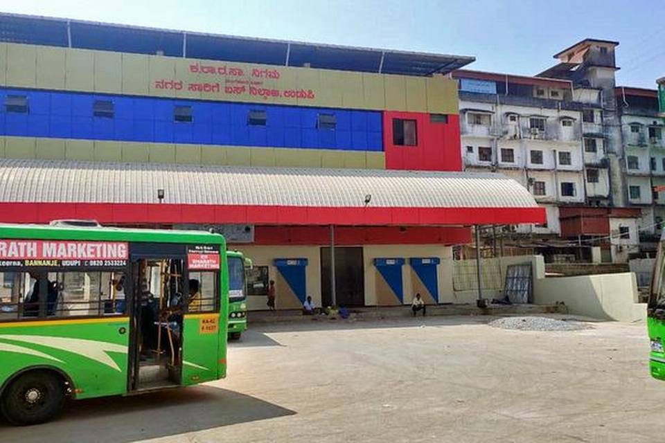 Government city bus stand to be opened in a month in Udupi
