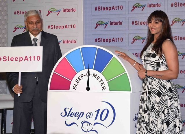 Godrej Interio,India launched a new health awareness campaign - sleep@10.