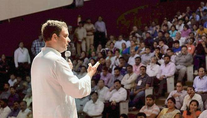 Parliament shut for Gujarat: Rahul