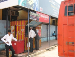 Shops encroach bus shelter in Udupi service bus stand