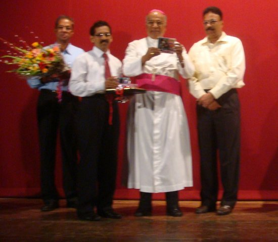 Auxiliary Bishop releases New Konkani religious album