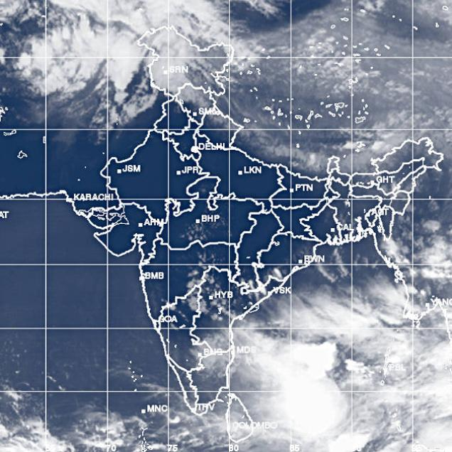 Monsoon making steady progress in the Bay
