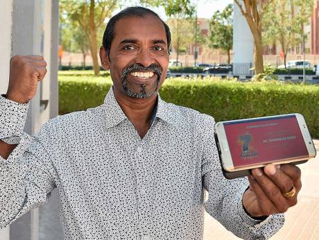 Indian expat wins Dh7 million in Big Ticket Abu Dhabi raffle
