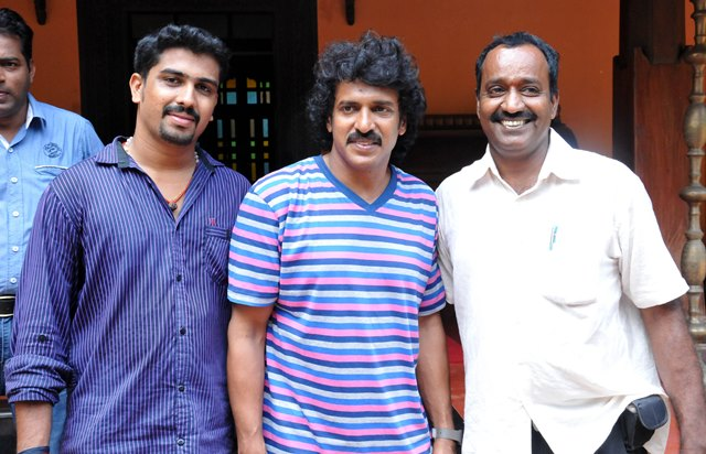 Upendra hunts for locations in Udupi