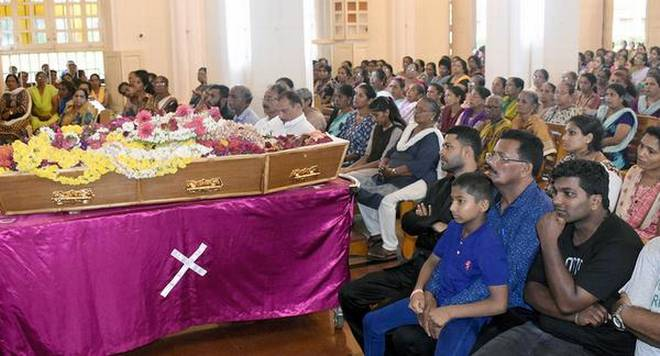 Hazel Mathias laid to rest in Shirva