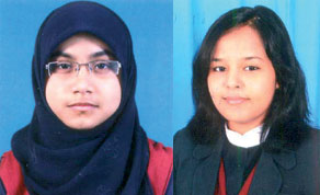 MES students top CBSE exams Kemmannu Origin Sana Zeenal Britto topped with 96.40%