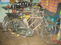 Govt sanctioned bicycles in teacher�s house!