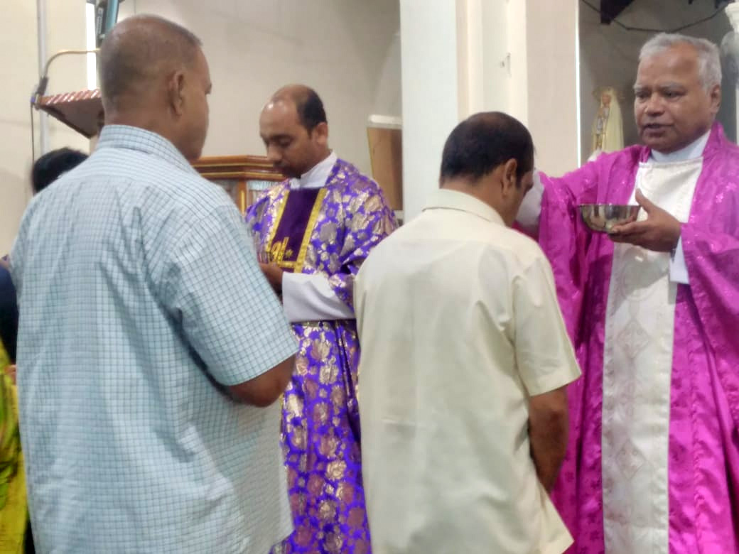 Milagres Cathedral, Kallianpur of Udupi diocese observes