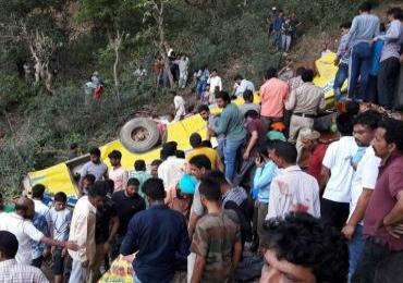 Himachal Pradesh: Thirty killed as school bus plunges into gorge