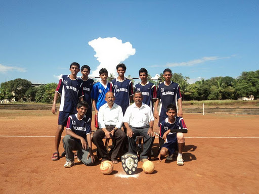 Milagrean boys selected for the State level Hand Ball in a row
