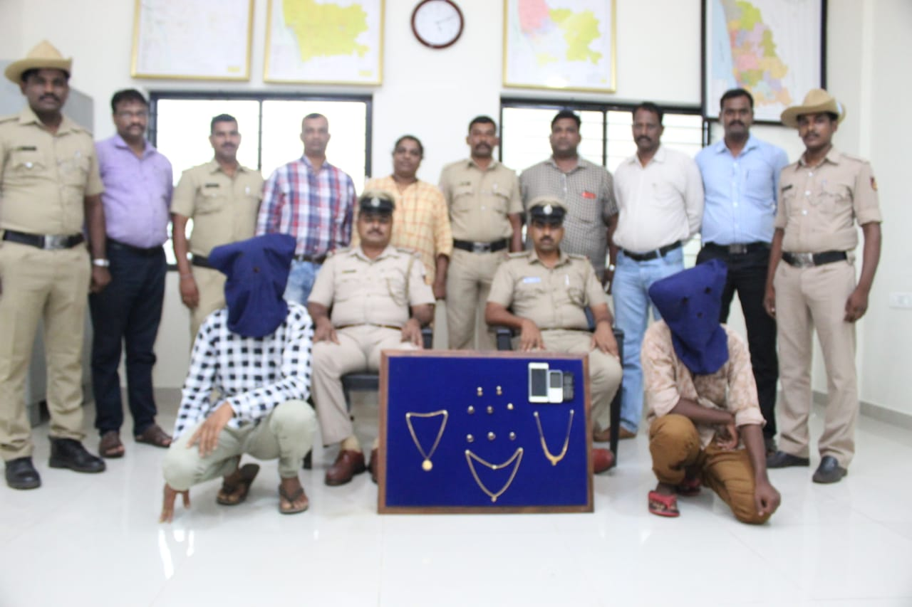 City police arrests two persons on theft case and recovered items worth Rs. 1,69,800