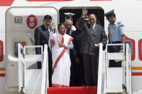 Patil becomes most-travelled Indian president of all time
