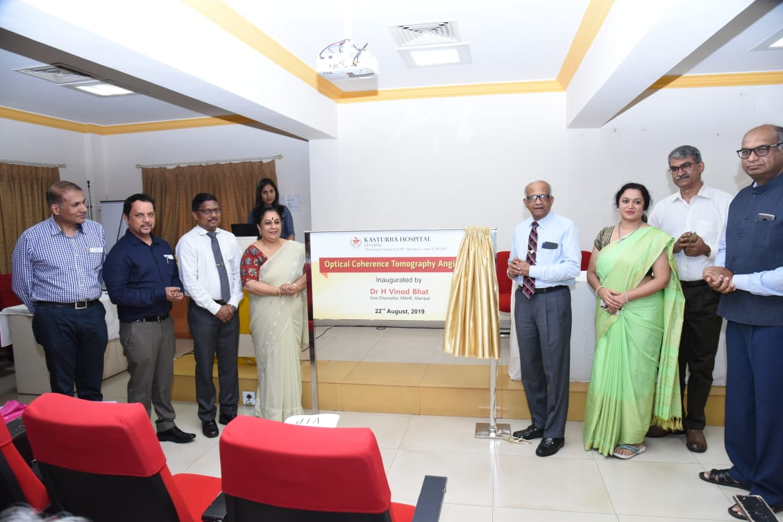 Advanced Optical Coherence Tomography Angioplex inaugurated in Kasturba Hospital, Manipal