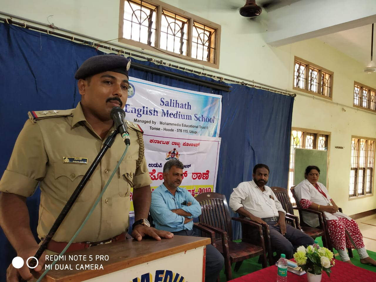 Awareness program on road safety and drug addiction held at Hoode