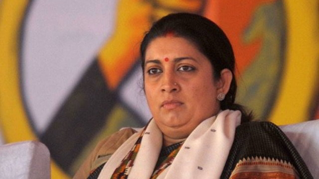 No prizes for guessing who was inspired by Hitler: Smriti Irani slams Rahul Gandhi