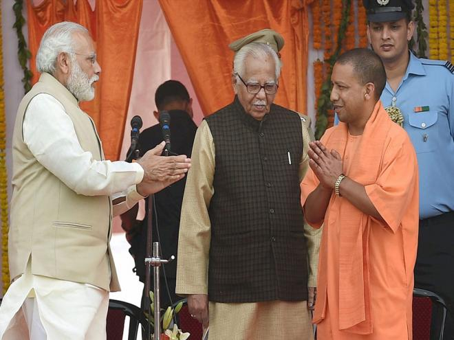 Adityanath attempts to balance regions, castes in his ministry