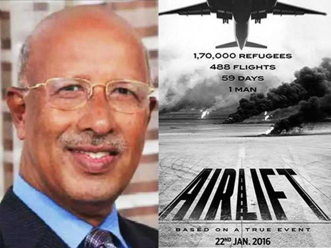 Man inspired Akshay movie 'Airlift' dies