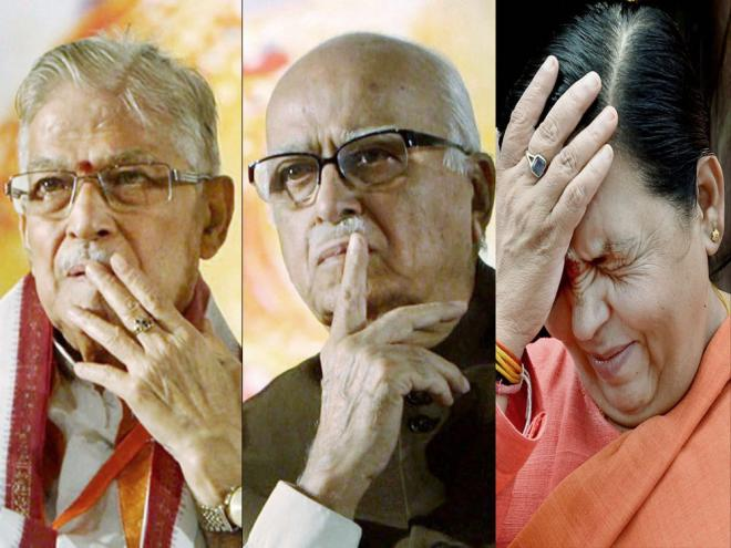 Babri case: Court to frame additional charges against Advani, others tomorrow