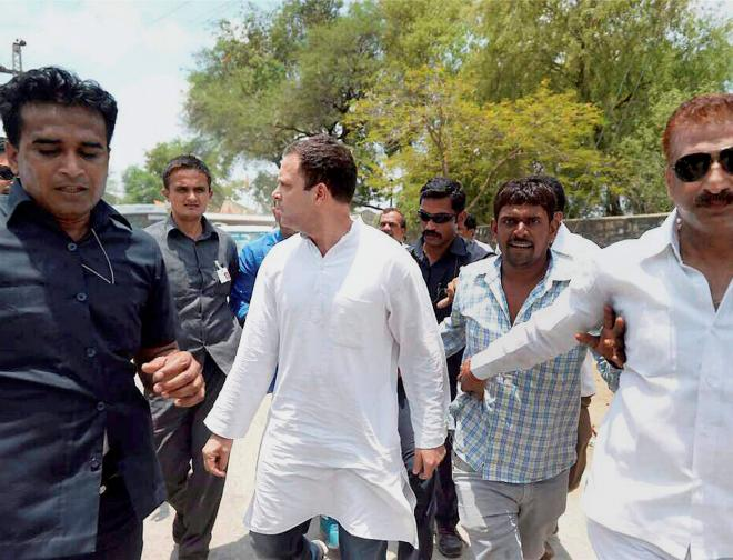 'Rahul allowed to meet families of farmers who were killed'