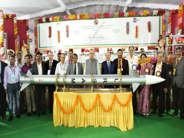 Long Range Surface to Air Missile handed over to Indian Army