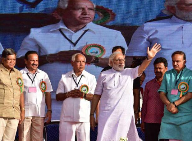BJP set to exploit Modi image in Karnataka