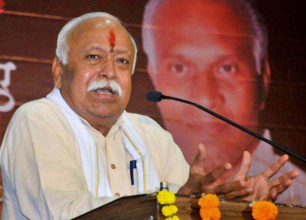 Freedom fighters never allowed western education to influence them: Bhagwat