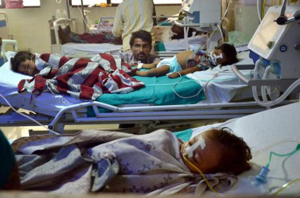 120 children died in Gorakhpur hospital in 10 days
