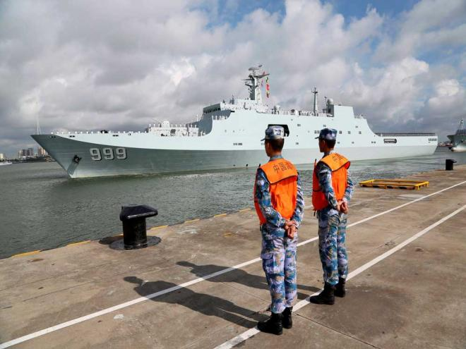 China sends PLA personnel to man 1st overseas base in Djibouti