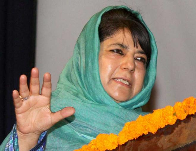 Why Mehbooba has named China for meddling in Kashmir?