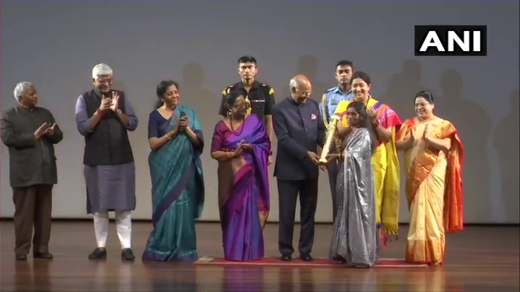 Women's Day: President Kovind Presents