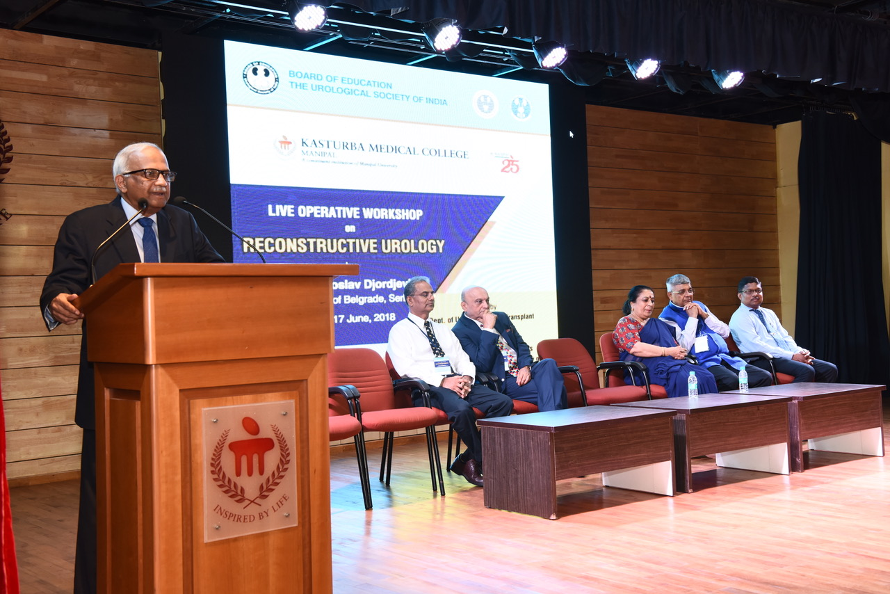 Workshop on Reconstructive Urology held at Kasturba Hospital, Manipal