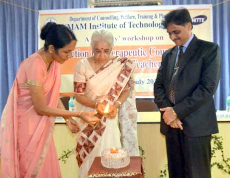 NMAMIT: Workshop on Therapeutic Counselling inaugurated