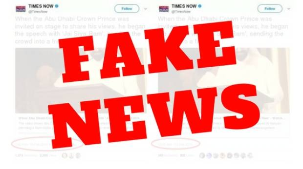 Fake news: Viral video clip in Indian media spreads false propaganda on UAE