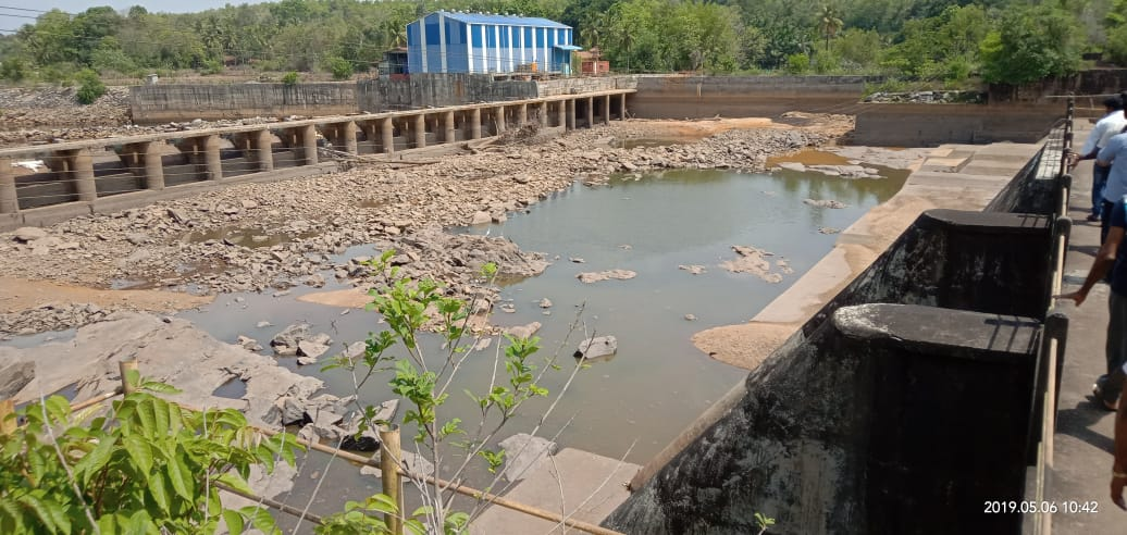 Baje dam dries up, water shortage hits Udupi City