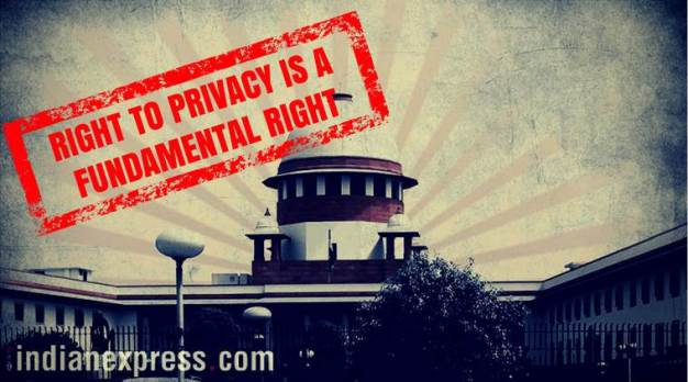 Privacy is a fundamental right
