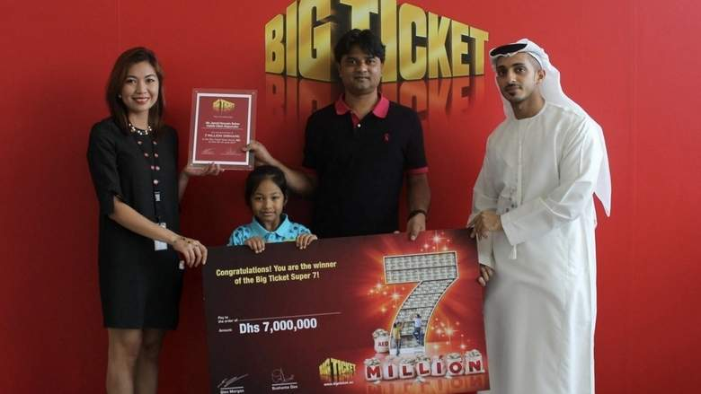 10 Indians, Pakistanis become millionaires in UAE raffle